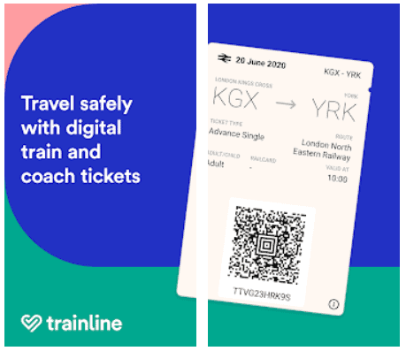 Trainline for Android Cheap UK Train Tickets