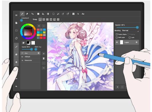 MediBang Paint Android Drawing App Review