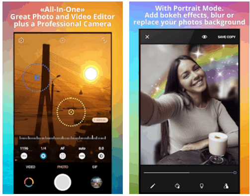 Pixtica Camera and Video Editor Android App Review