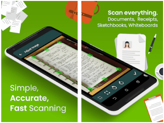 Clear Scan Document Scanner Android App Review