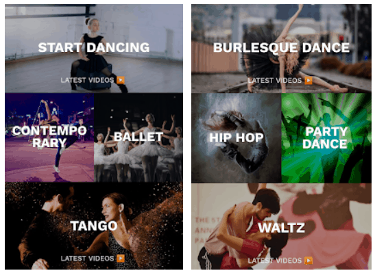 Learn Dancing Android App Review