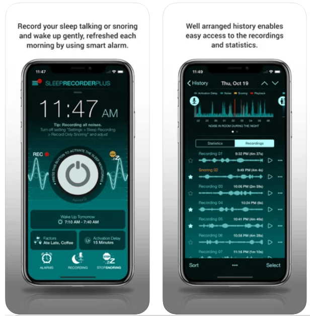 Sleep Recorder Plus iPhone App Review