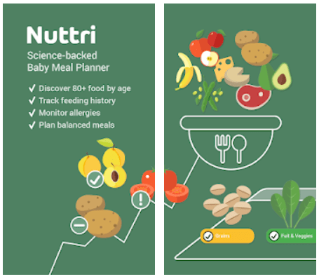 Nuttri Baby Food Android App Review