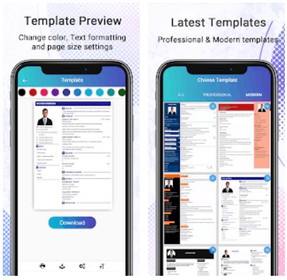 Resume Builder Android Free CV Maker App