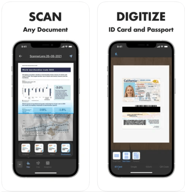 Scanner Lens Scan to PDF iPhone App Review