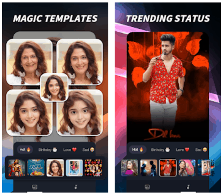 mAst Music Status Video Maker Android App Review