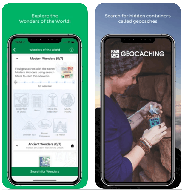 Geocaching iPhone App Review