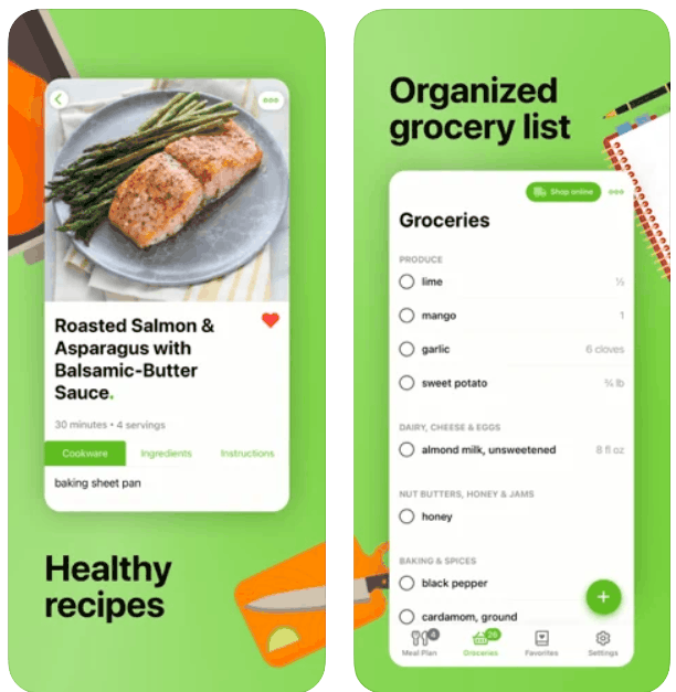 Mealime Meal Plans Recipes iPhone App Review